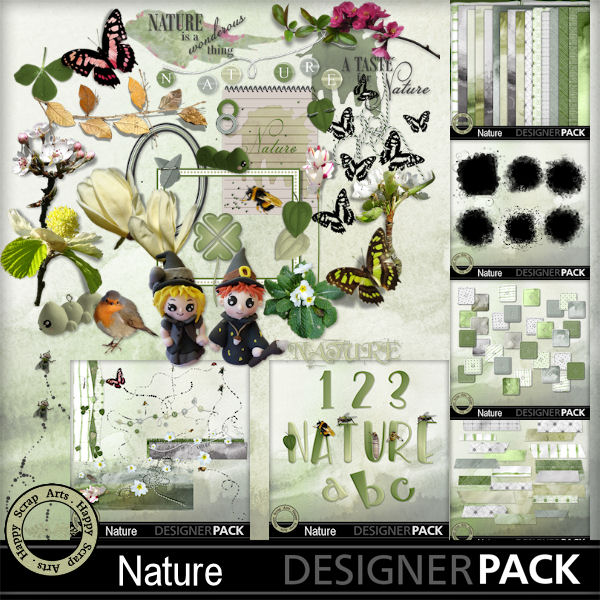 Maart 2017 HSA Nature bundel kit