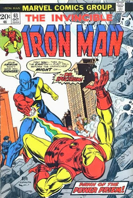 Iron Man #63, Dr Spectrum