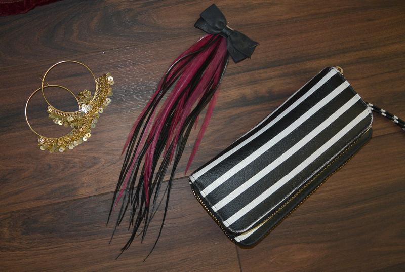 boho fashion shoot accessories