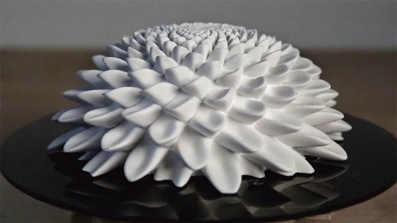 نموذج مطبوع بتقنية ثلاثية الأبعاد