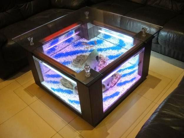 mesa de centro pecera
