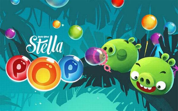 Rovio Hadirkan Angry Birds Stella POP! untuk Android & iOS