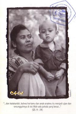 "Postcard "" CHILD"""