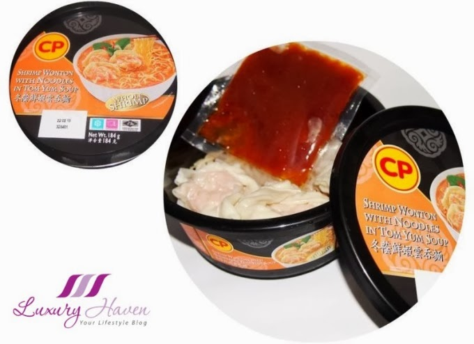 cp shrimp wonton tom yum soup review