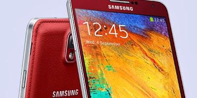 Merah dan Rose Gold, Dua Warna Baru Galaxy Note 3