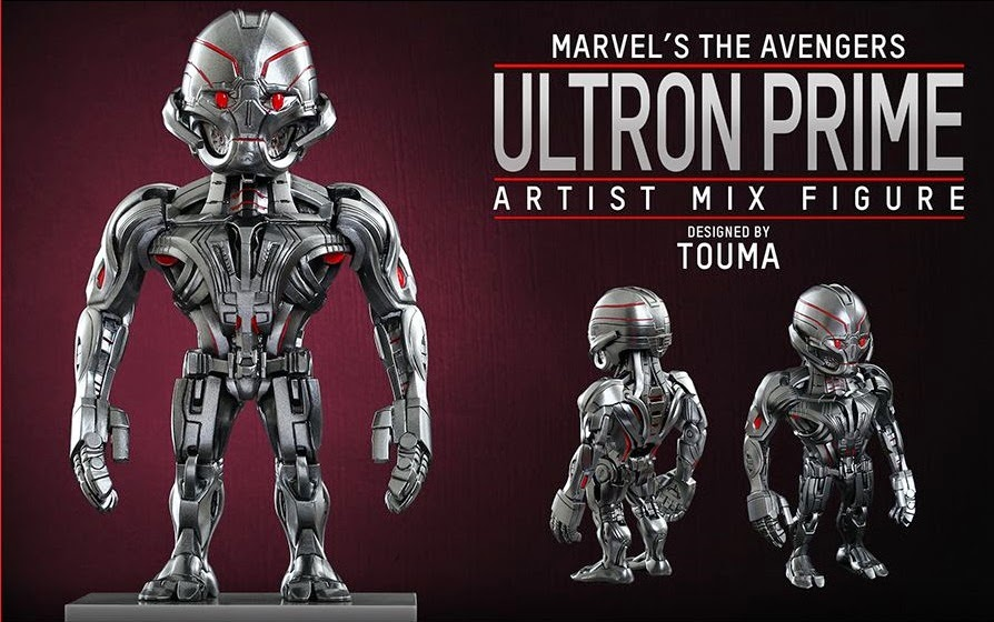 Marvel's Avengers Age of Ultron Artist Mix Figures Series 1 by Touma & Hot Toys - Ultron Prime