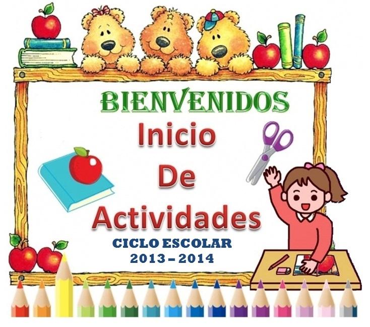 Bienvenida de ciclo escolar primaria - Imagui