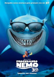 """Poster do filme """"Procurando Nemo 3D"""""""