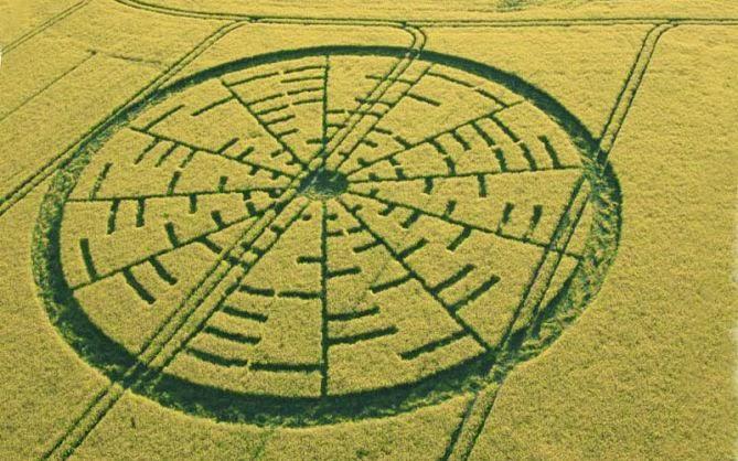 Círculos en los cultivos