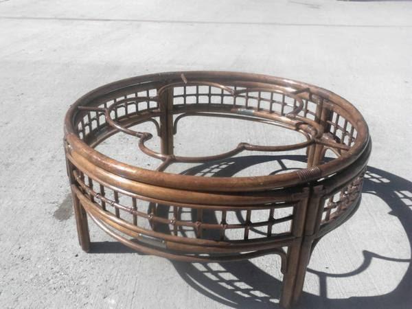Brown Wicker Coffee Table Craigslist Austin Furniture Round Rock