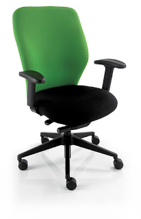 two fabric office chair