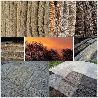 4. Projekt - Decke aus Schafwolle