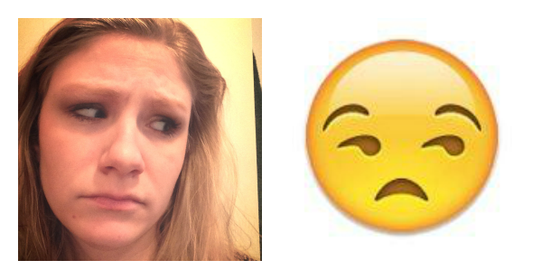 Human Emoji - Meh Face