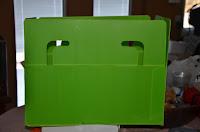 Packaway box side view