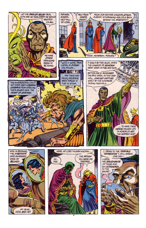 Conan the Barbarian (1970) Issue #247 #259 - English 6