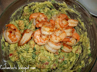 Extra Creamy Shrimp Pasta Salad by Custom Taste
