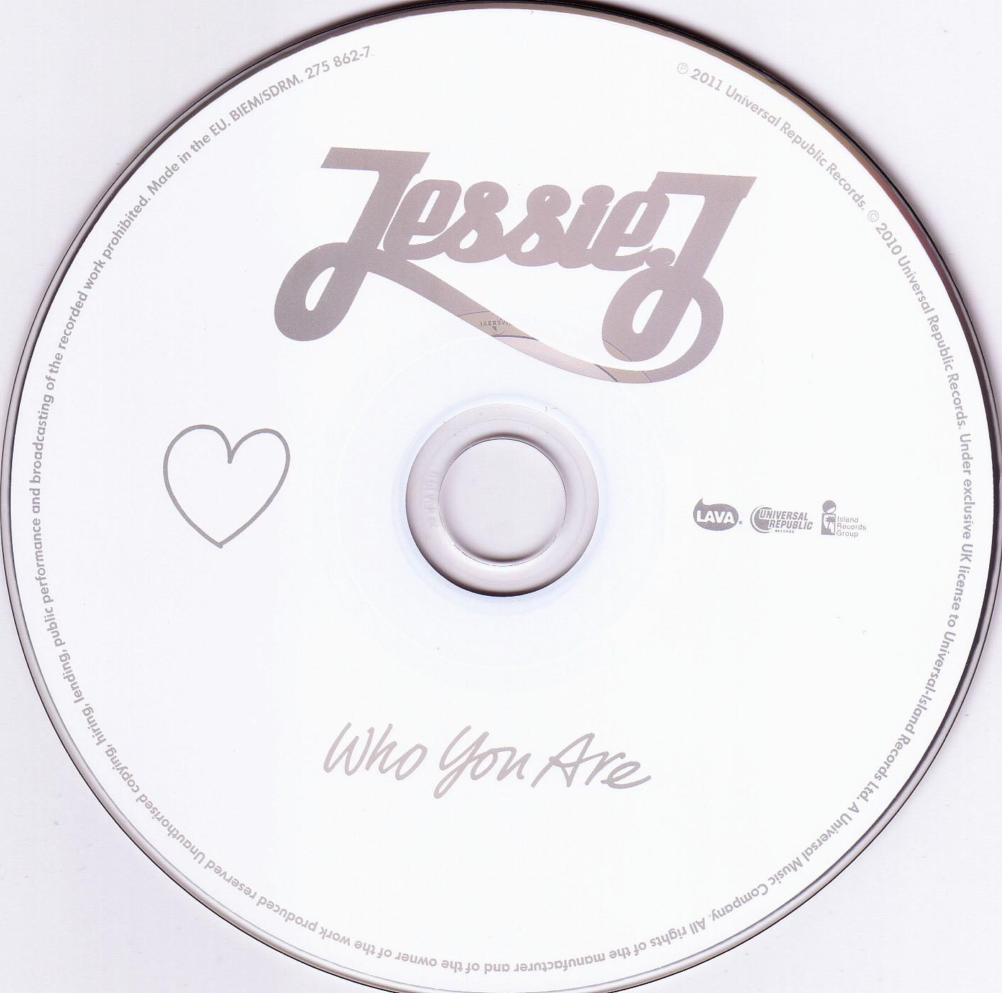 Album Jessie J Who You Are Rondazmy
