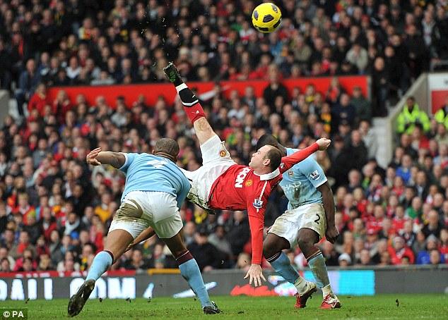 Wayne Rooney Vs Manchester City