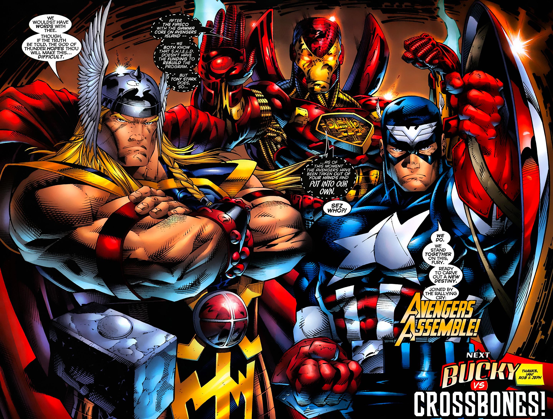 Captain America (1996) Issue #6 #6 - English 19