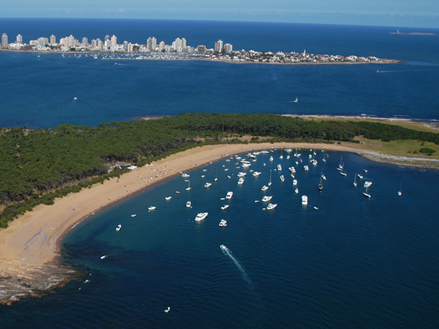Playas Punta del Este, Uruguay