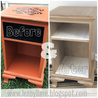 Curbside Makeover Before & After Furniture