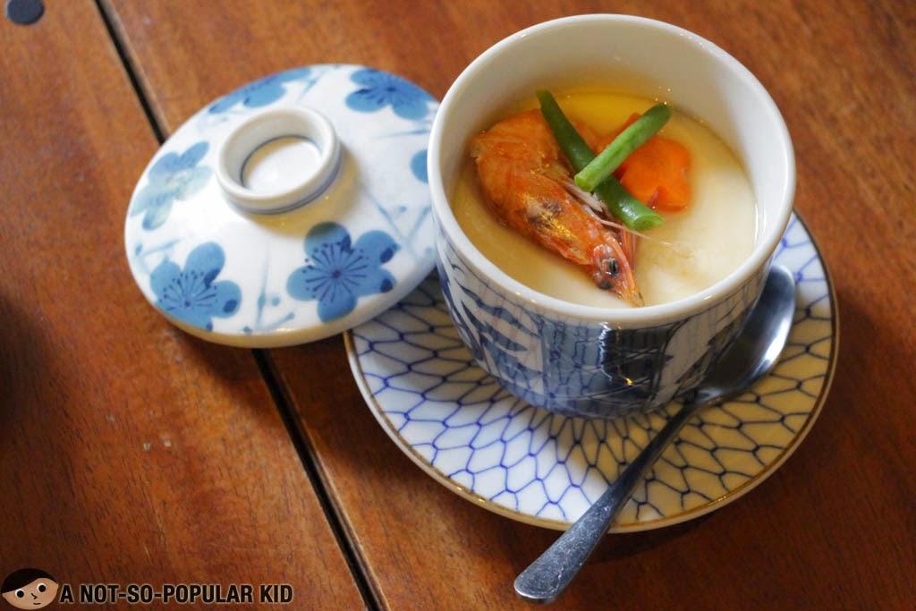 The bland chawan mushi of Chaya Japanese Restaurant