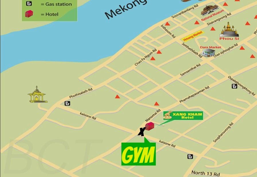 Gym in Luang Prabang