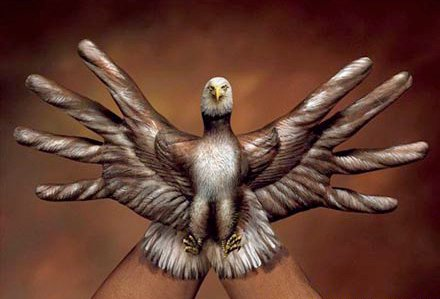 Guido Daniele 1950 | Hand and body painting