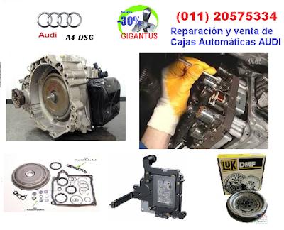 caja automatica dsg Audi a4