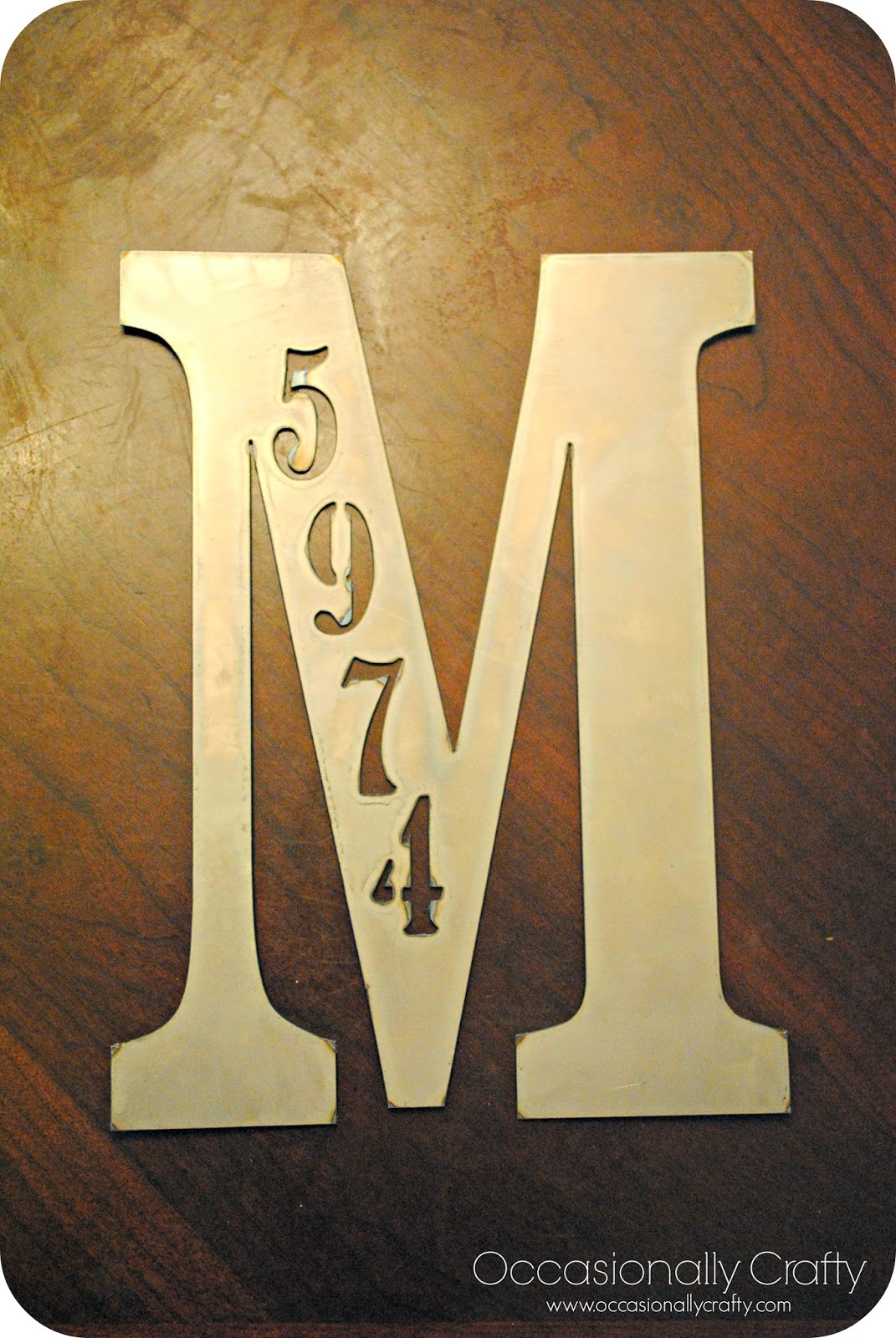 Metal Letters For Front Door | Wall Plate Design Ideas