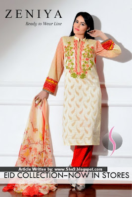 Zeniya Ready To Wear Line – Eid Collection 2015
