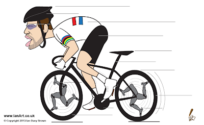 Mark Cavendish Caricature
