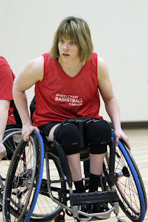 Gabby Roberts-Winter, Picture from Wheelchair Basketball Canada