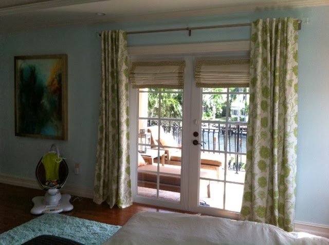 Curtains Ideas curtain rod roman shades : Window Treatments by Melissa: Ask Melissa: How to combine roman ...