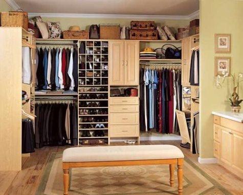 Dise os de closets o armarios para el dormitorio principal for Closet para cuartos matrimoniales