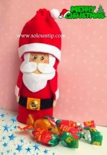 Recicla y ahorra haz manualidades dulceros - Manualidades con rollos de papel higienico navidenos ...