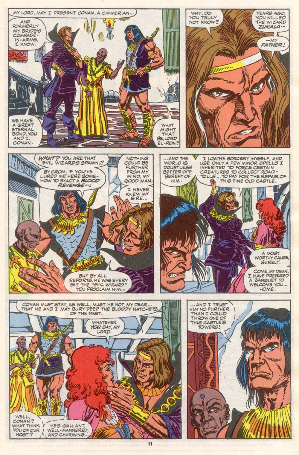 Conan the Barbarian (1970) Issue #242 #254 - English 9
