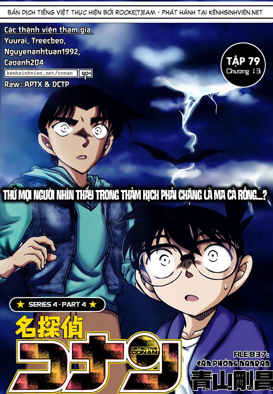 Detective Conan - Thám Tử Lừng Danh Conan chap 837 page 2 - IZTruyenTranh.com