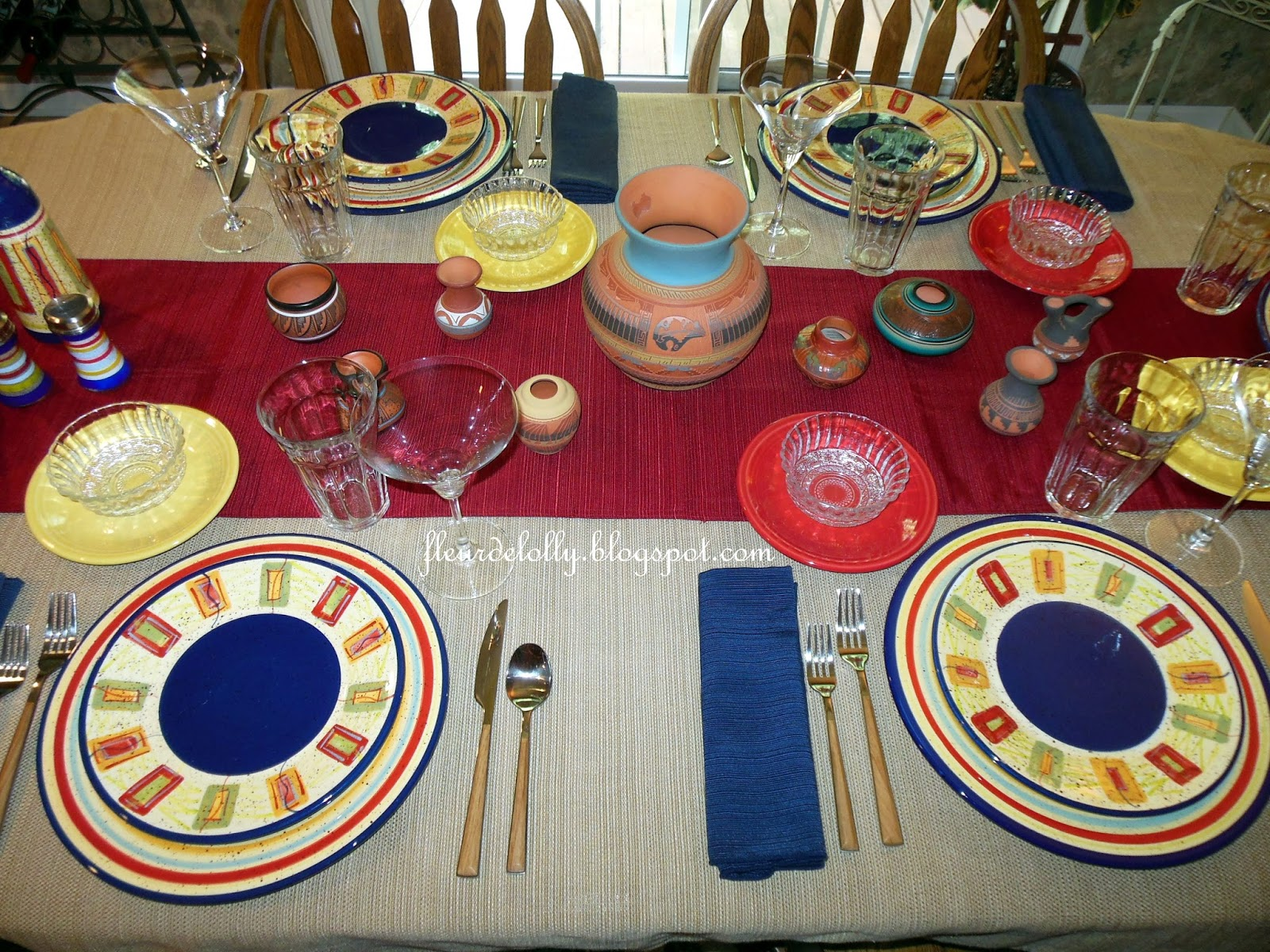 Fleur de Lolly: Father\'s Day 2015 Table Setting - A little bit of ...