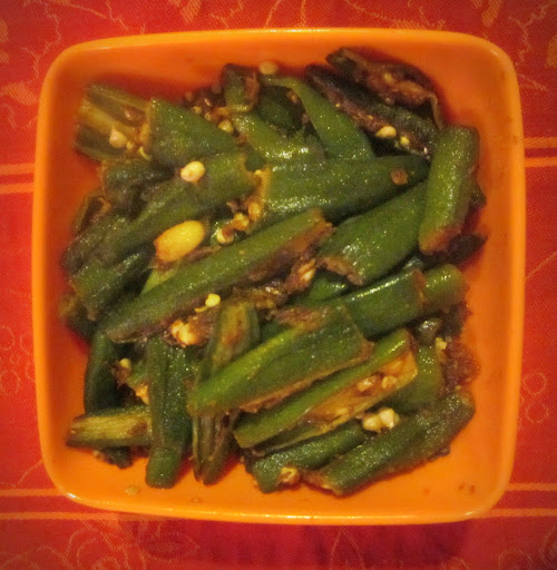 Spicy Bhindi