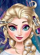 Реальные прически Эльзы - Онлайн игра для девочек