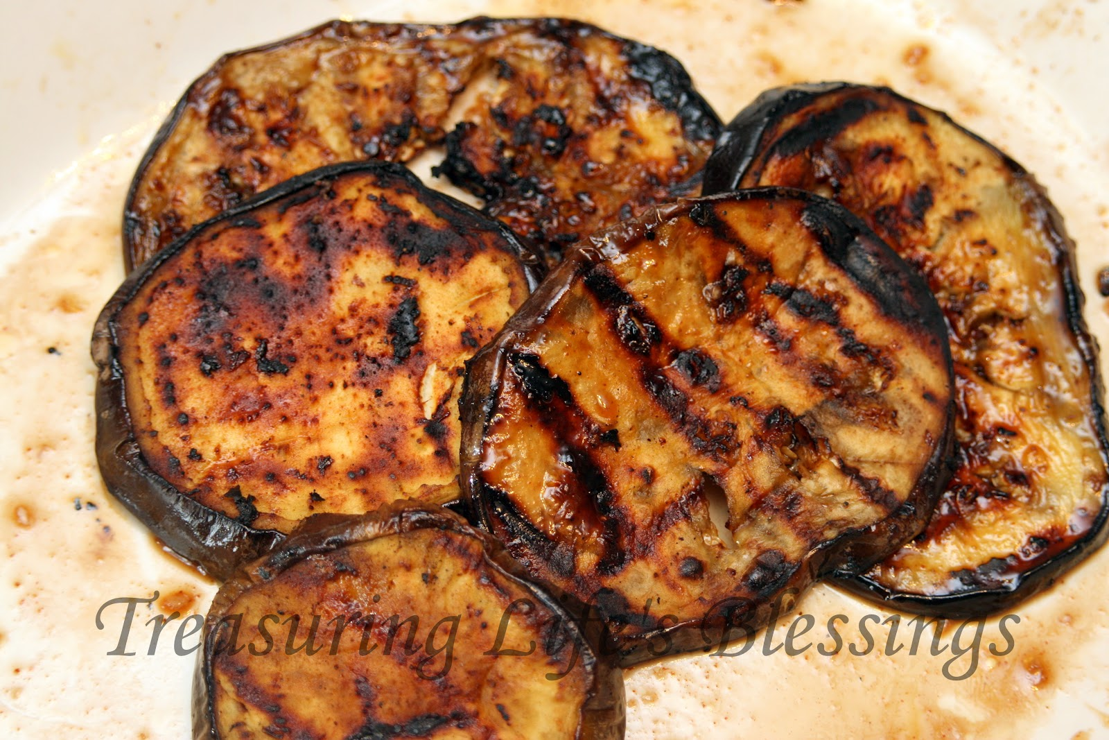 Bbc Food Grilled Aubergine
