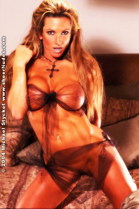 Deeann Donovan Transparent Bikini