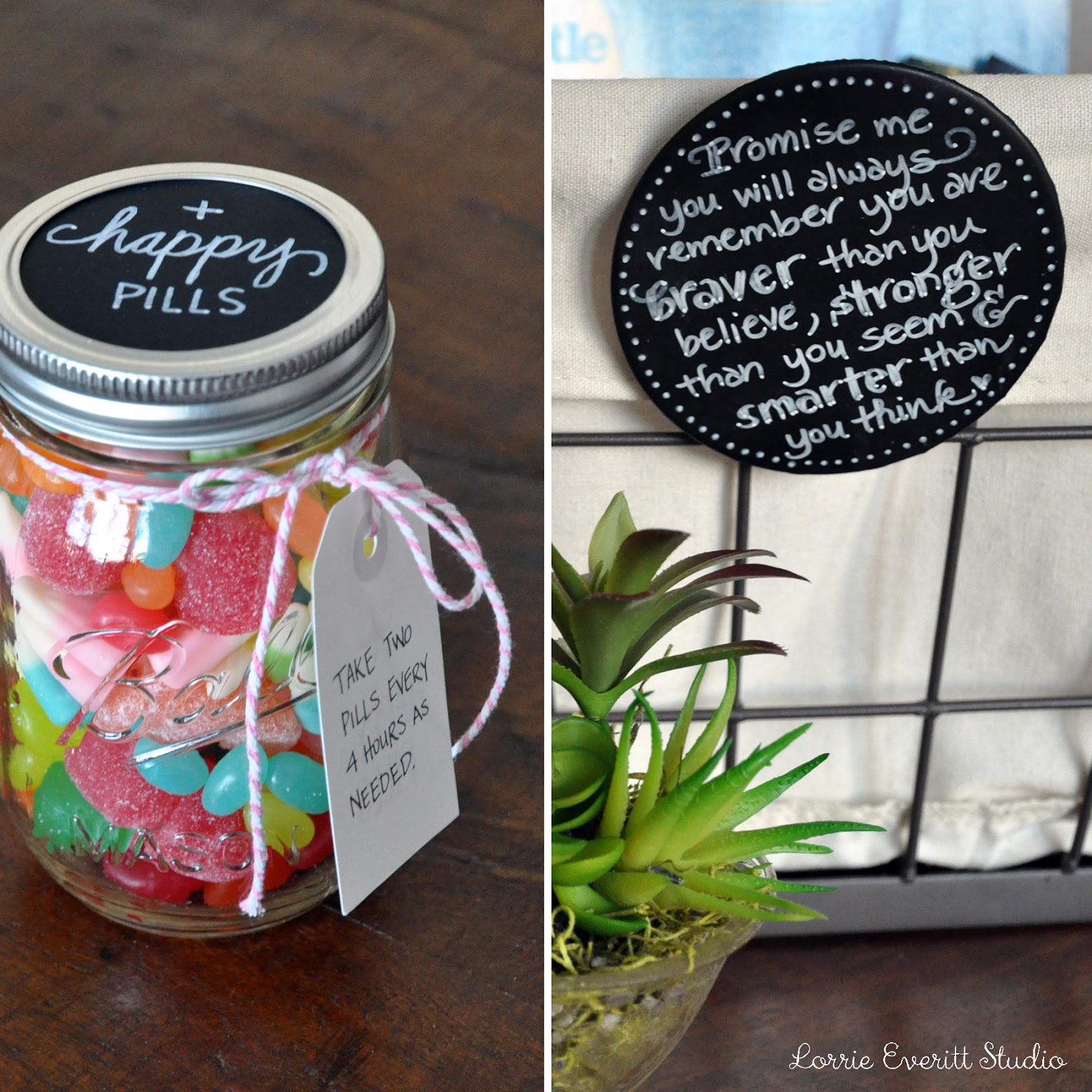 "diy ""feel better"" gift basket 