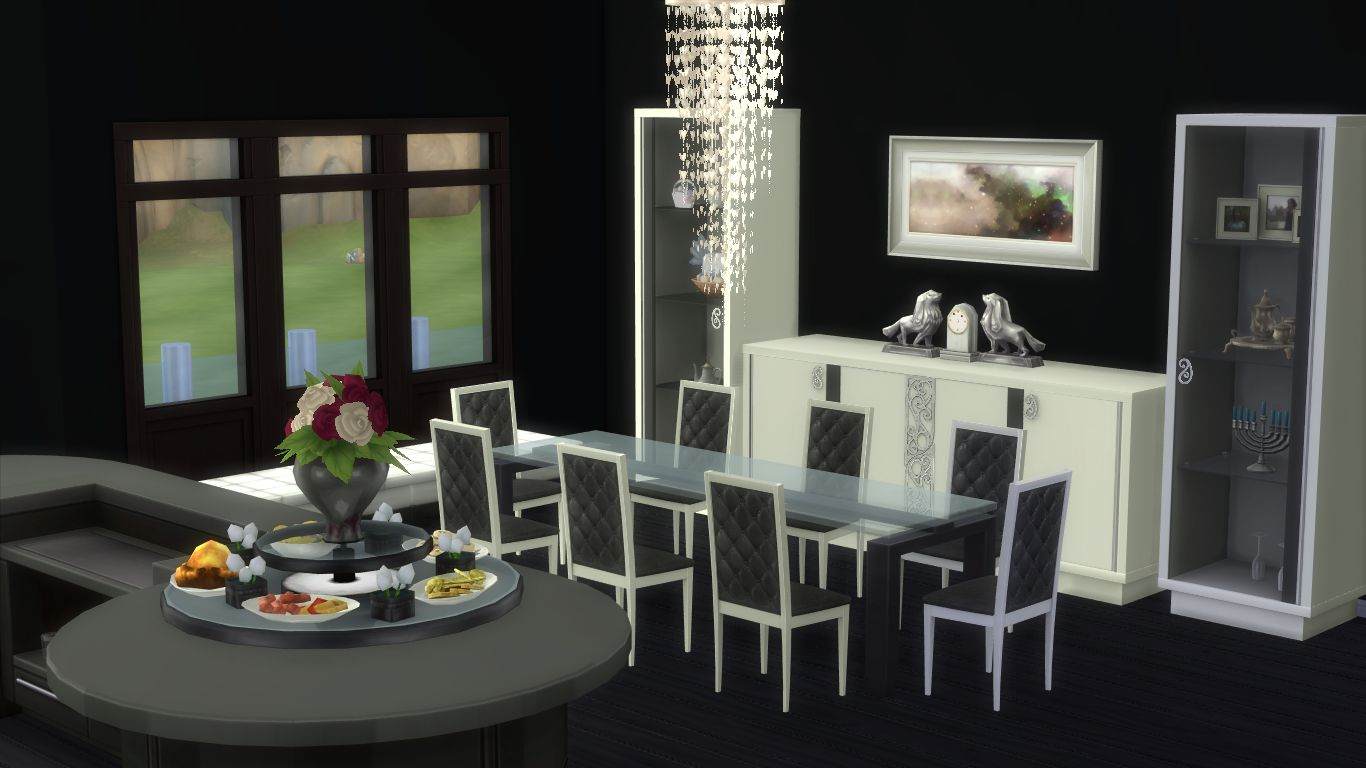 Sims 4 room download elle 39 s kitchen n dining my sims 4 for Dining room ideas sims 4
