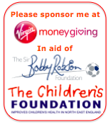 Please sponsor me on Virgin Money Giving
