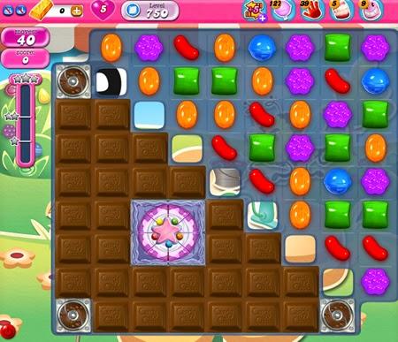 Candy Crush Saga 750