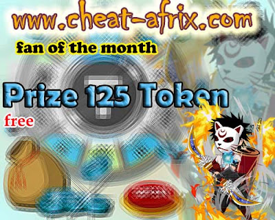Fan of The Month cheat-afrix | 125 Token Free
