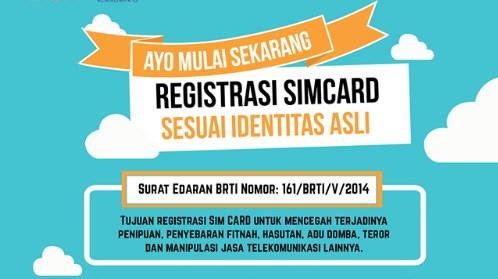 registrasi kartu sim, cara registrasi kartu sim, hukuman registrasi kartu sim, denda registrasi kartu sim, sangsi registrasi kartu sim