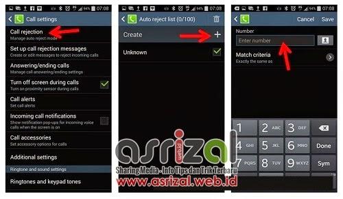 Cara Blokir Nomor SMS dan Telepon di Ponsel Android
